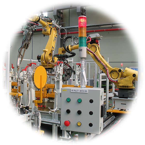 A manufacturing robot
