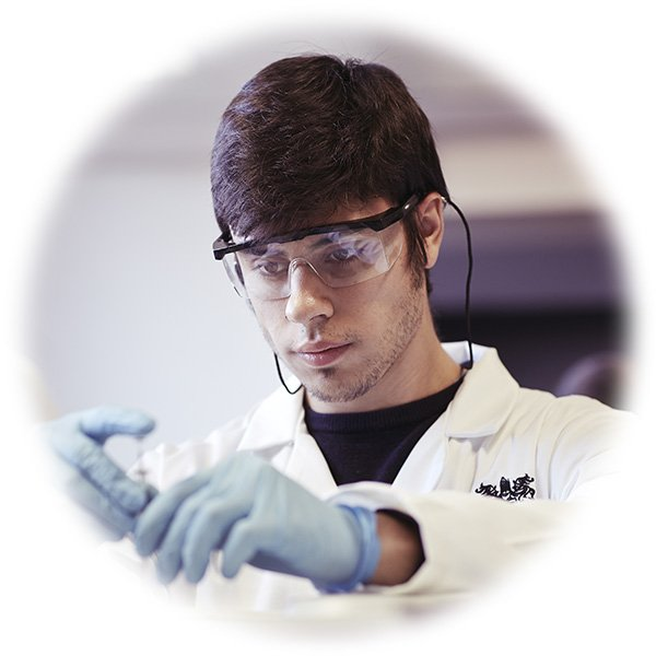 A clinical chemist starts to prepare an assay